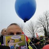 Manifestation à Bourgoin du 14 février 2012