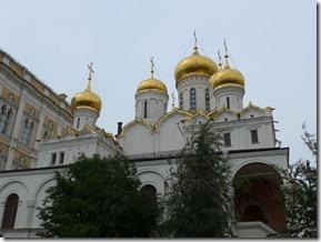 cathédrale de l'annonciation coupoles
