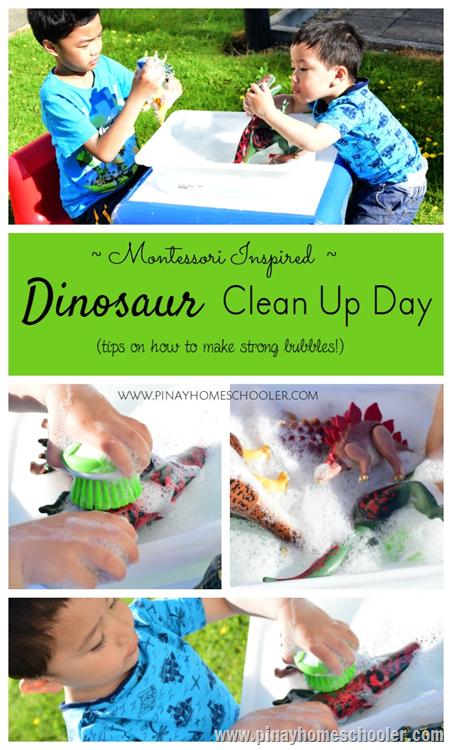 Dinosaur Cleanup