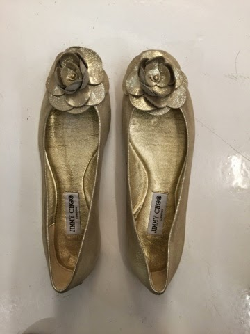 Jimmy Choo ballet flats shoes