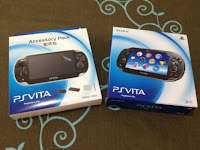 PS Vita Value Accessory and Unit Box