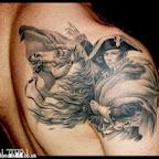 Napoleon Bonaparte shoulder blade - tattoos ideas