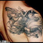 Napoleon Bonaparte shoulder blade - tattoos ideas