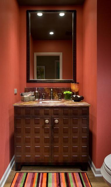 Adoráveis Decorações de Banheiros e Lavabos, blog Achados de Decoração