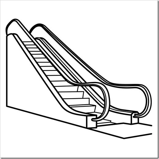 Dibujos Para Colorear De Escaleras