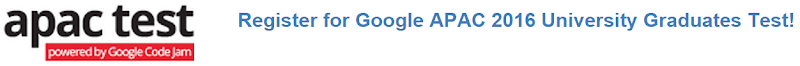 apac test google code jam