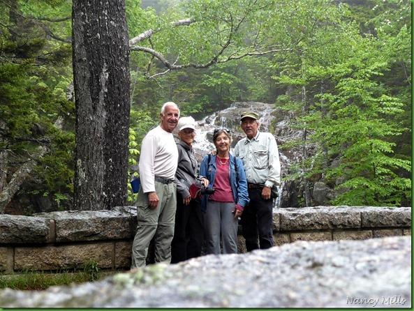 2017-6-17 26h Maine - Rainy - Hike  to Carriage Road Bridges & Waterfall - Waterfall Bridge 1925