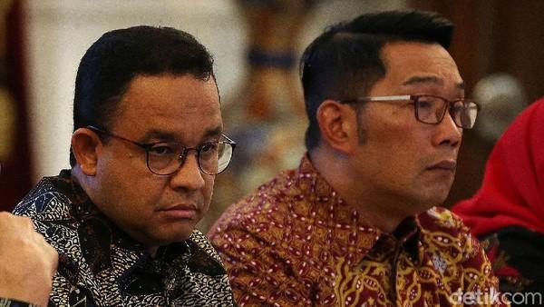F-NasDem Usul DPR Panggil Ulang Anies-RK Rapat Bahas Banjir