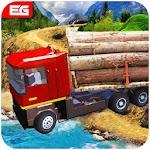 Future Cargo Loaded Truck Driver Logging Simulator Icon