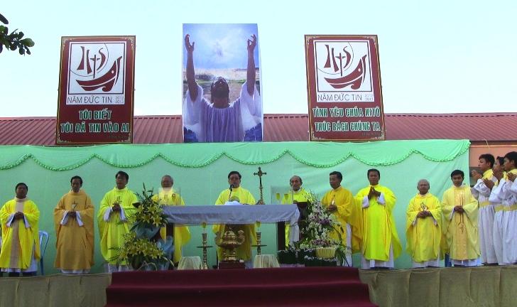 Hành hương Năm Đức Tin tại Giáo Hạt Ninh Phước