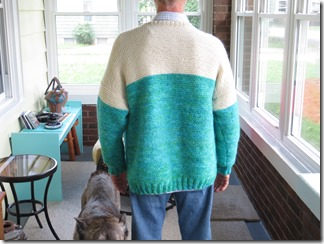 7 Day Sweater (free pattern link)