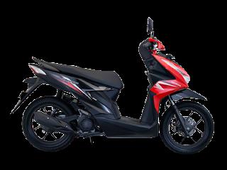 Motor Honda Revo Warna Strip Merah Salah Satu Motor Dengan Kosnumsi Bensin Irit