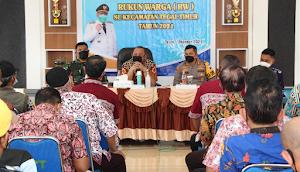 Cakupan Vaksinasi Tinggi, Walikota Beri Apresiasi RW di Kecamatan  Tegal Timur