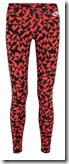 Nike Printed Stretch Cotton Jersey Leggings