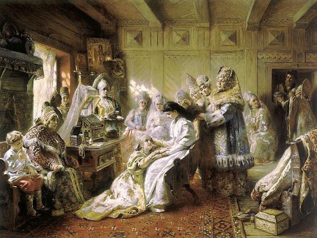 Der russische maler konstantin makowski 1839 1915