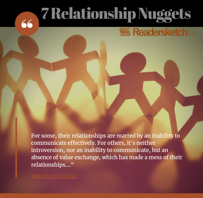 7 RELATIONSHIP NUGGETS