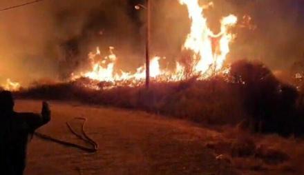 Αττική : Μεγάλη φωτιά τώρα στον Διόνυσο