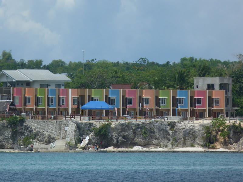 Le ferry longe Panglao island