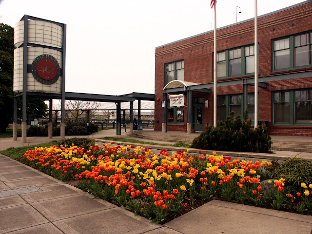 The Fairhaven Terminal is the hub of transportation for the Bellingham area. Credit: Bellingham Whatcom County Tourism