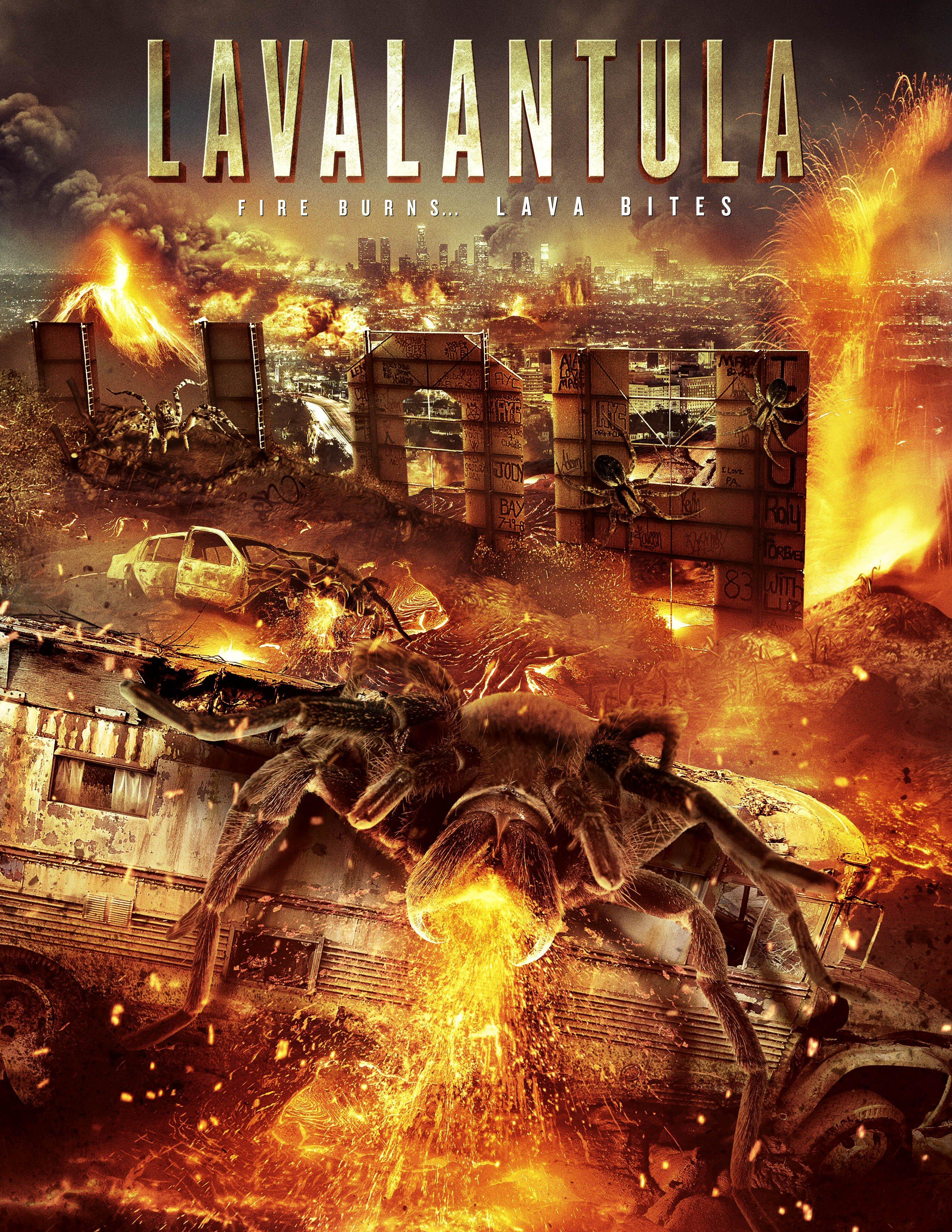 Nhện Lửa Khổng Lồ - Lavalantula (2015)
