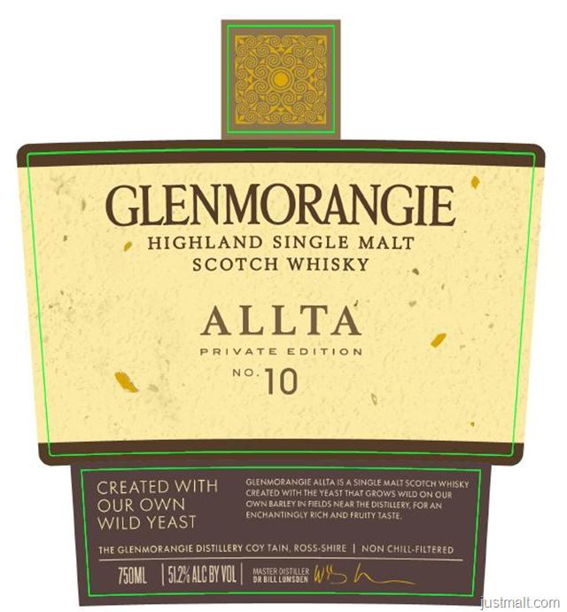 Glenmorangie Allta Private Edition No 10