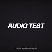 AUDIO TEST · epaper