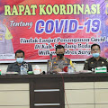 Polres Sergai Rakor Protokol Kesehatan,AKBP Robin Simatupang : ASN,TNI/Polri Harus Menjadi Contoh Masyarakat