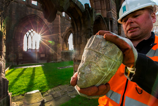 Elgin Stones Return Home to Elgin Cathedral, Scotland