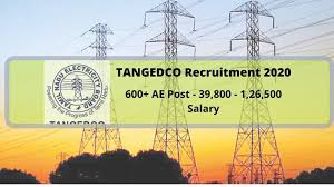 TANGEDCO Assistant Engineer Recruitment 2020