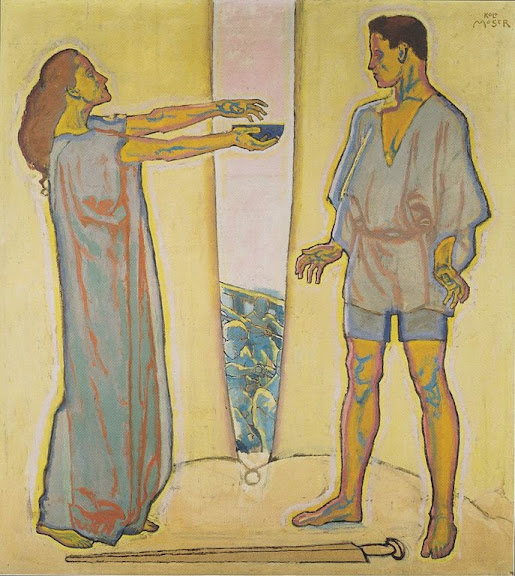 Koloman Moser - Tristan und Isolde - ca1915