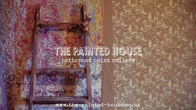 Pintar Con Rodillo Decorativo Y Con La Chalk Paint La