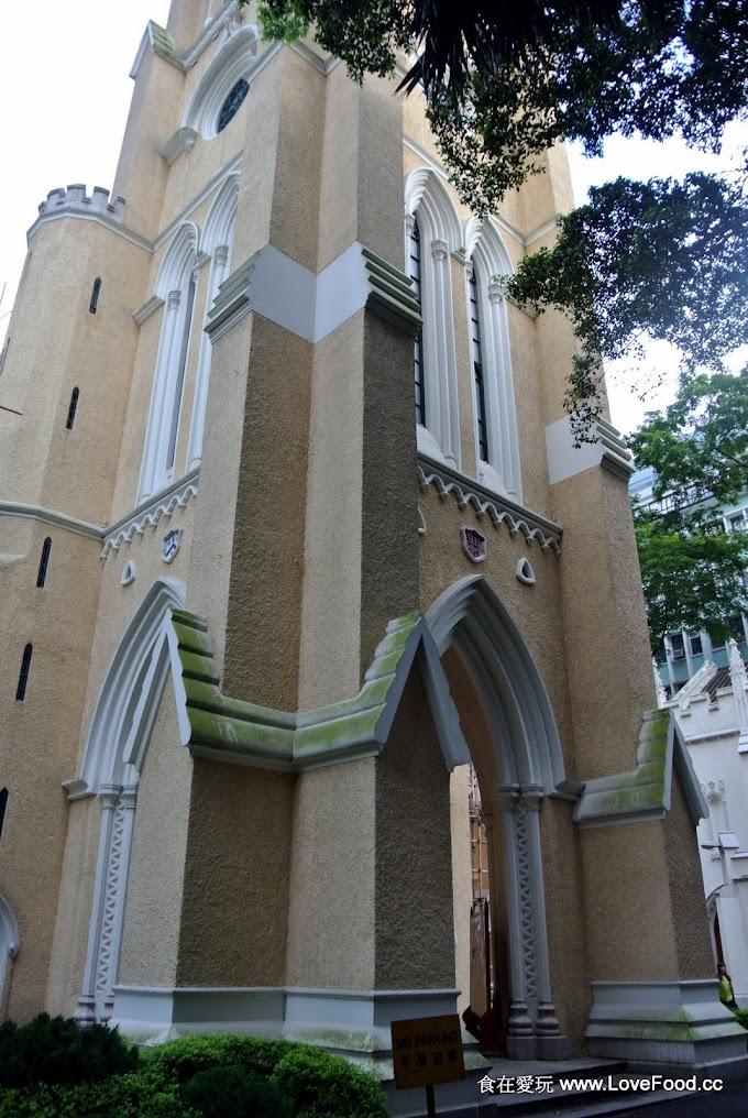 香港中環【聖約翰座堂】160年歷史、法定古蹟