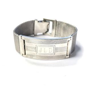 Sterling Silver Ralph Lauren Signet Bracelet
