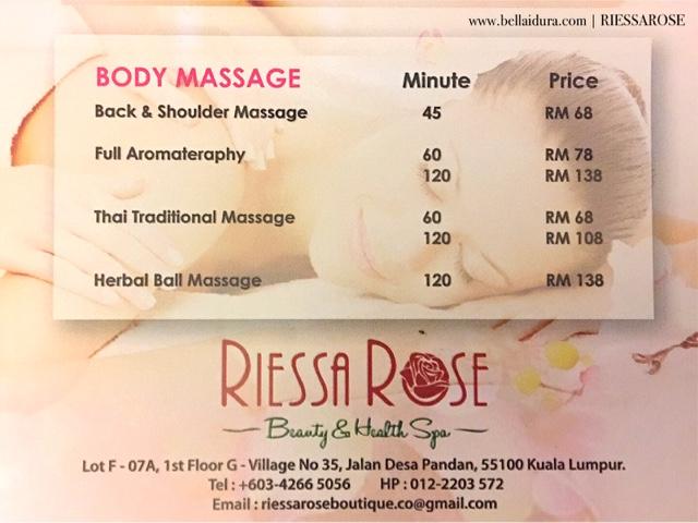 massage murah