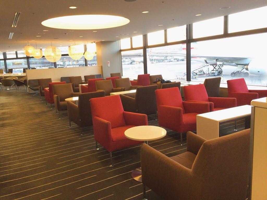 カンタス航空 インターナショナルビジネスラウンジ(成田国際空港)