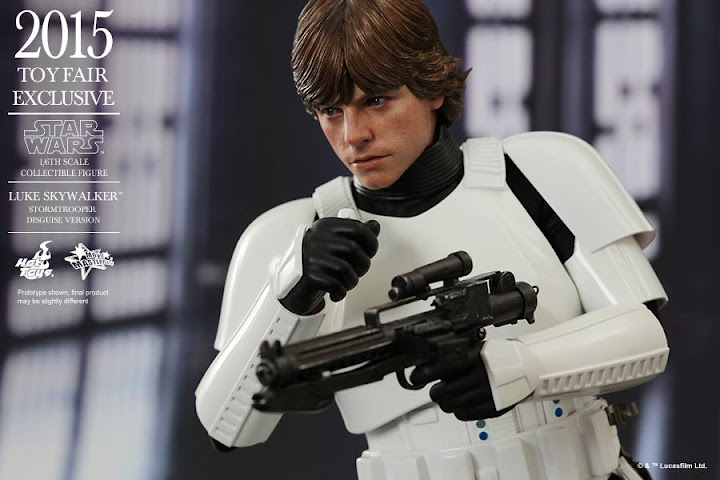 Luke Skywalker (Stormtrooper Disguise Version) (New Hope)