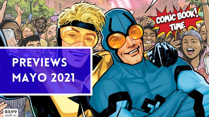 Cómics recomendados: Previews mayo 2021