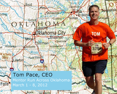 Pacebutler CEO Tom Pace Runs Across Oklahoma