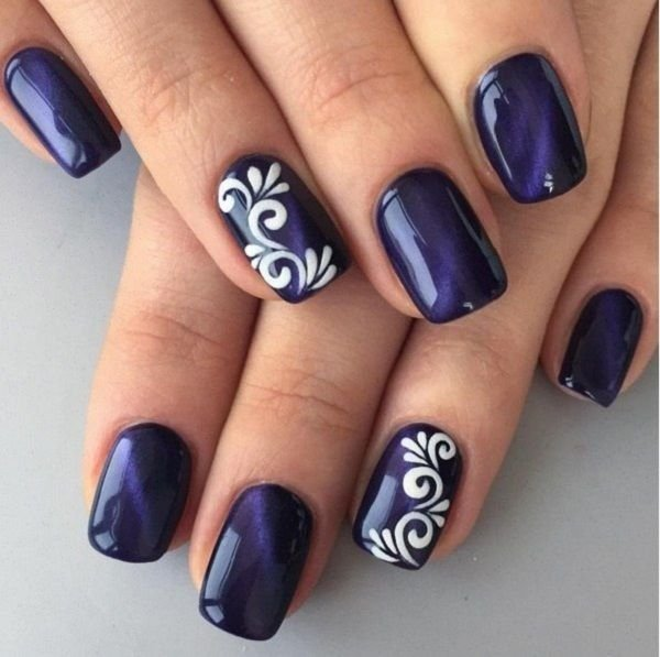 12 Unique Trending Nail Art Designs For 2017: #Easy Creative Ideas For Nails For 2017