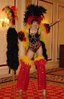 Rio Showgirl on Stilts