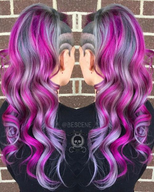 The Best Unboring Styles with Magenta Hair Color By Professional 2017 8