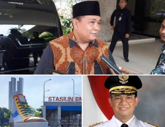 Kritik Pembangunan Tugu Sepatu Oleh Anies, Arief Poyuono: Cuma Cari-cari Proyek Saja Untuk Antek-anteknya
