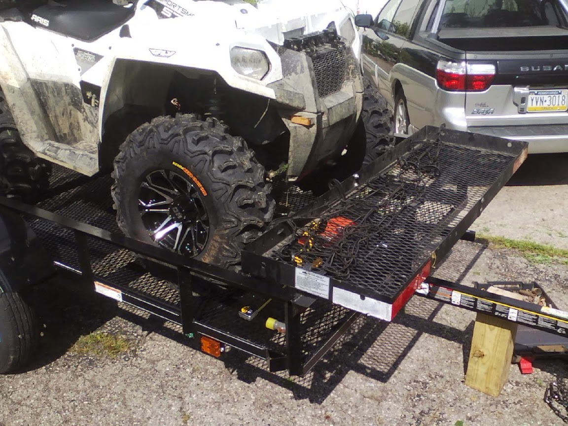 How To Give Your Utility Trailer More Utility Polaris