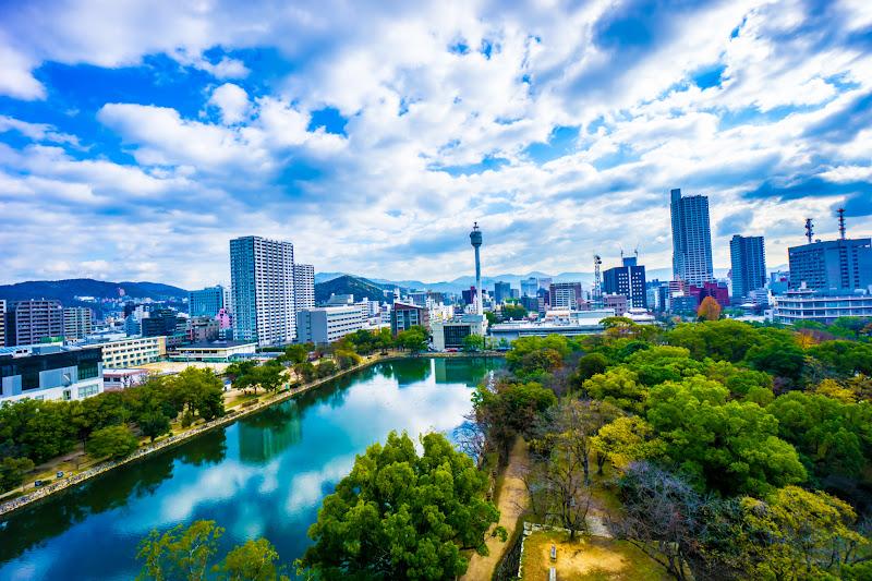 Hiroshima Castle top floor1