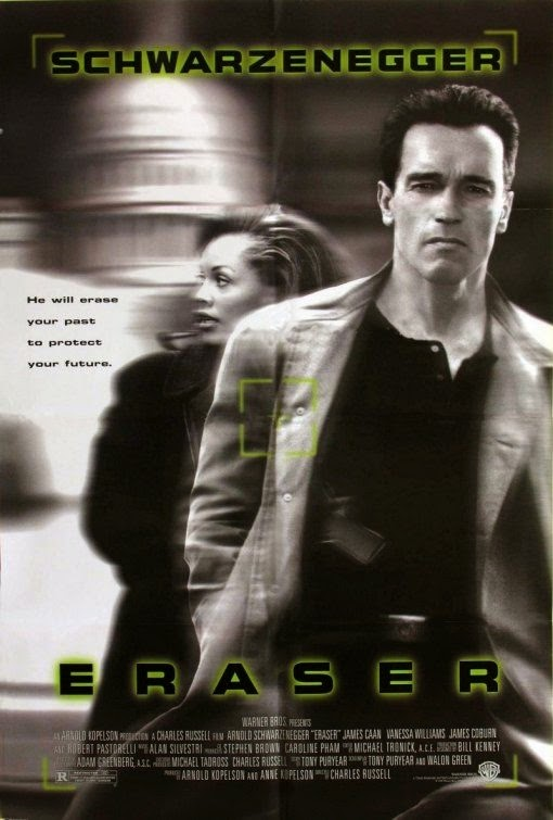 Poster Of Eraser (1996) Full Movie Hindi Dubbed Free Download Watch Online At alldownloads4u.com