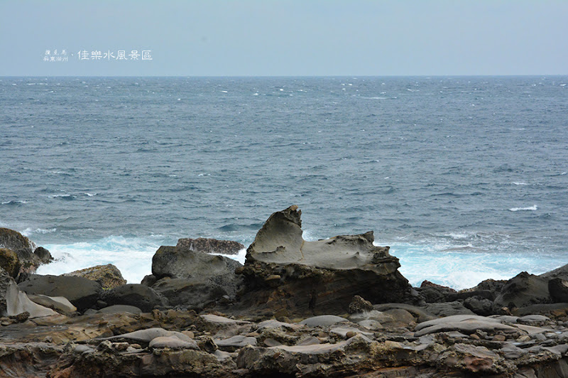 佳樂水風景區海獅石