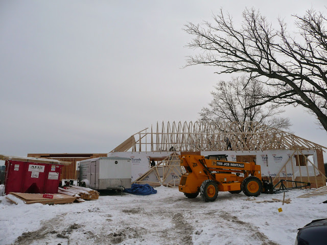 Building of new home in Waukesha, WI - P1030410.JPG