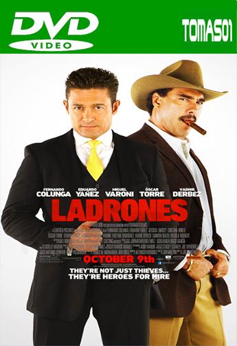 Ladrones (Ladrón que roba a ladrón 2) (2015) DVDRip