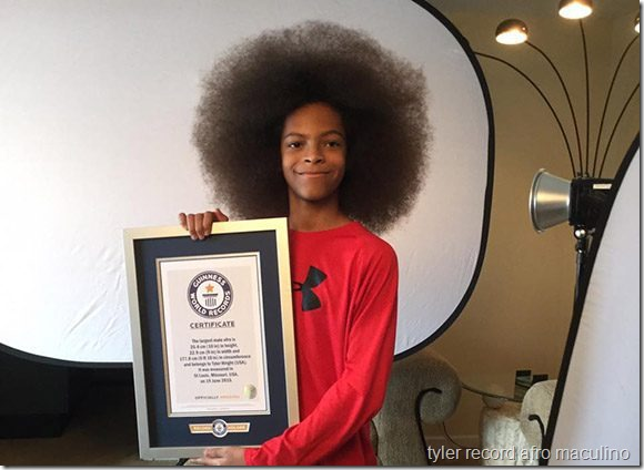 tyler record afro maculino (x2)