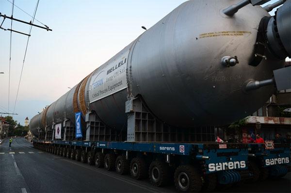 Голямото съоръжение, което премина през Бургас